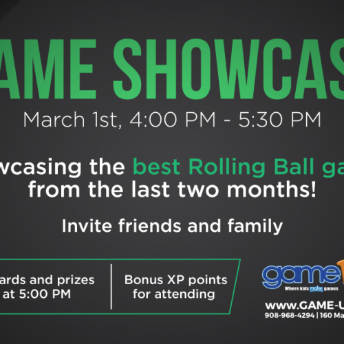 game showcase Invite