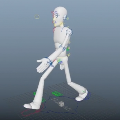 Alinah Ts 3D Walk Animation Image