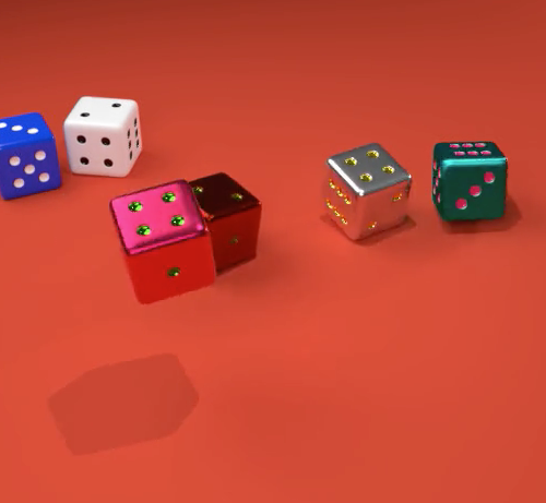Yosefs Animated Dice Models image